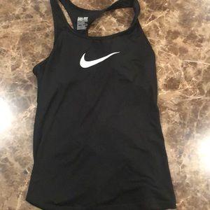 Black Nike Dri-Fit top